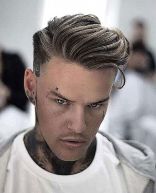 Frisuren für mittellanges Haar Männer