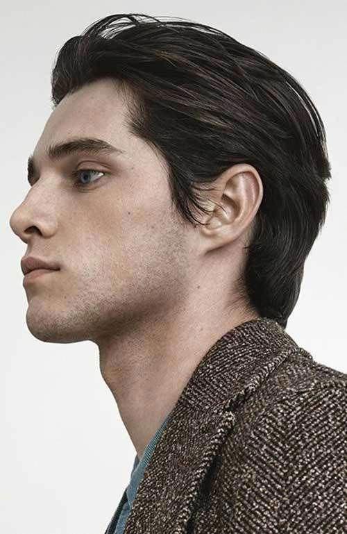 Einfache Frisuren für Männer Mittlerer Haar