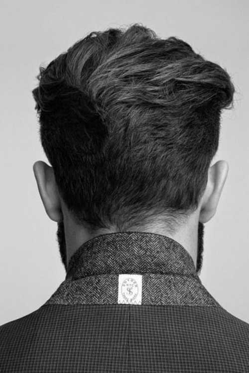 20 Best Mens Haircut Back View The Best Mens Hairstyles