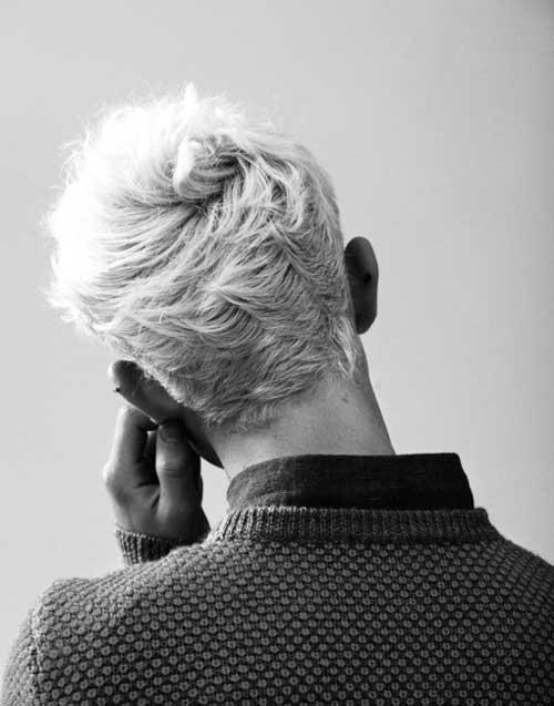 Mens Coupe de cheveux, Vue de l'Arrière-13