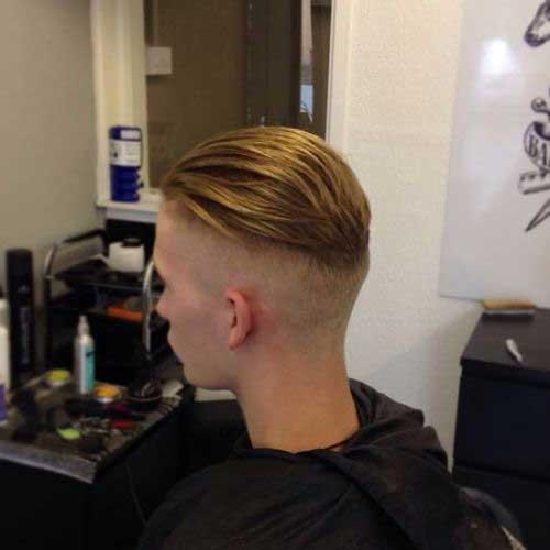 Mens Coupe de cheveux de l'Arrière Vue-15