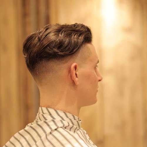 Mens Coupe de cheveux, Vue de l'Arrière-17