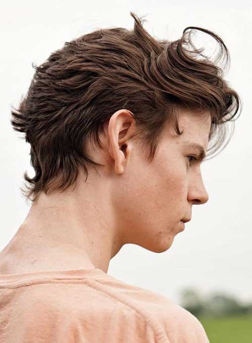 Medium Length Hairstyles Men-19