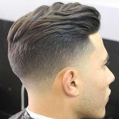Mens Coupe de cheveux, Vue de Dos-20