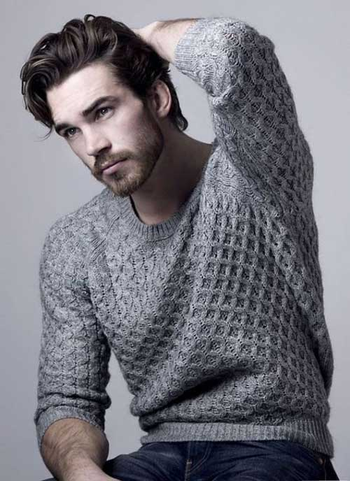 Medium Length Hairstyles Men-6