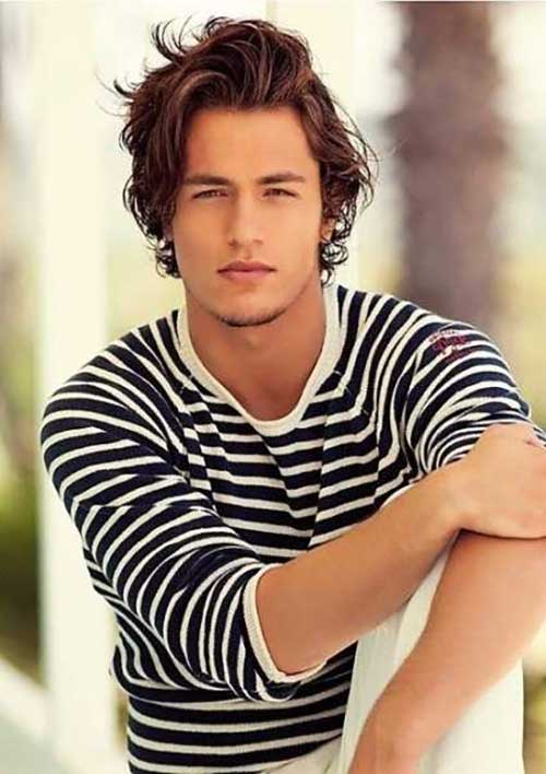 Medium Length Hairstyles Men-7