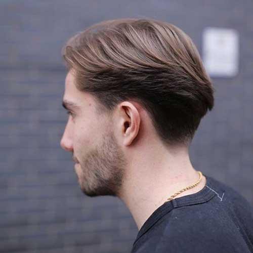 Mens Coupe de cheveux de l'Arrière Vue