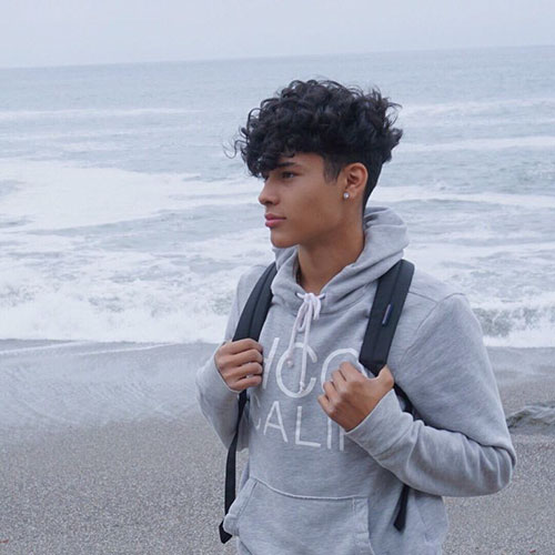 Haircuts For Curly Boy Hair