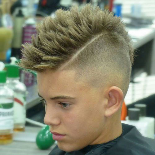 Taper Fohawk Haircut
