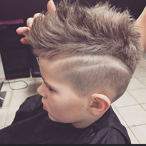 Mohawk Fade For Kids
