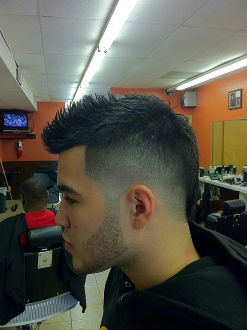 Boys Mohawk Cuts