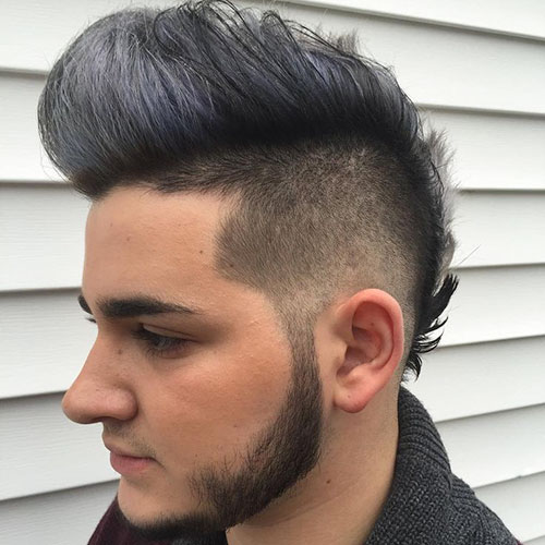 Taper Fohawk Hairstyle