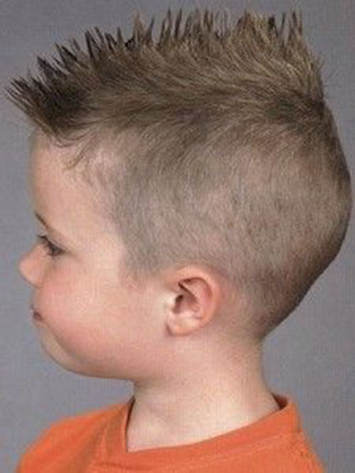 Boys Mohawk Haircut