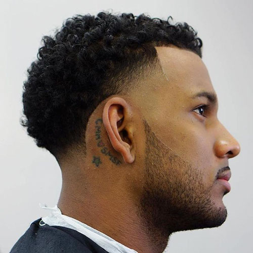 Fade Cut For Curly Hair
