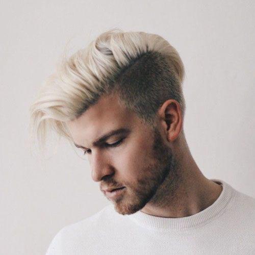 Platinum Blonde On Men