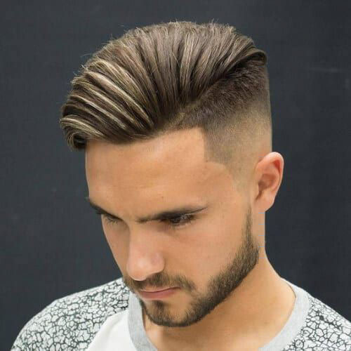 Pompadour Undercut Haircut