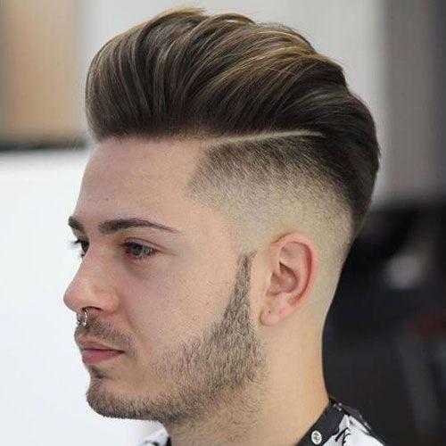Undercut Pompadour Hairstyle