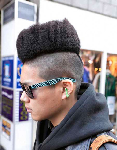 Dreads With High Top Fade