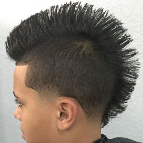 20 Cool Kids Mohawk Fade Images