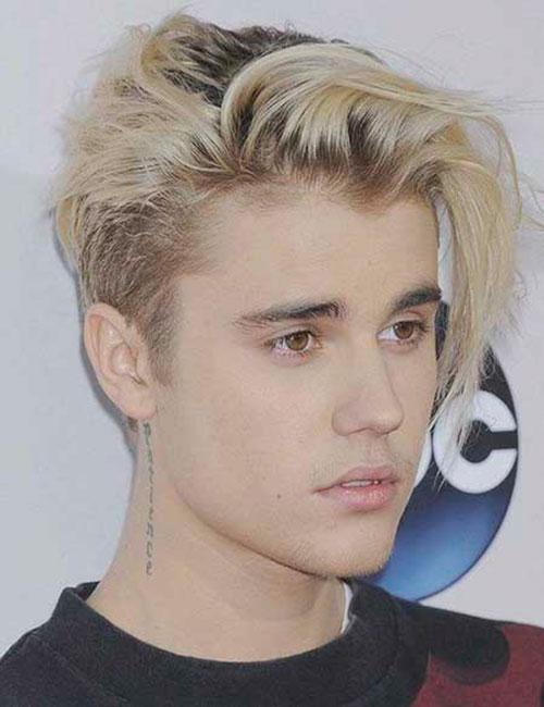 Mens Platinum Blonde Hairstyles