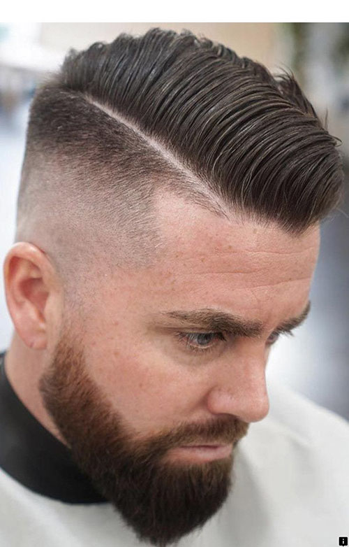 Short Comb Over Hairstyle