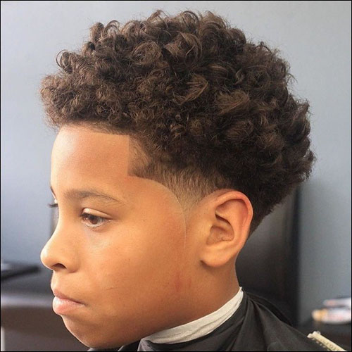Thot Boy Haircut Curly