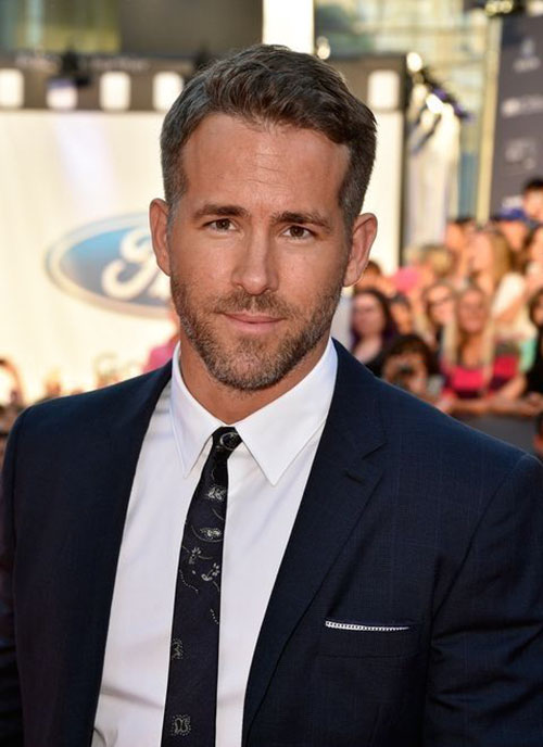 Ryan Reynolds Deadpool Haircut